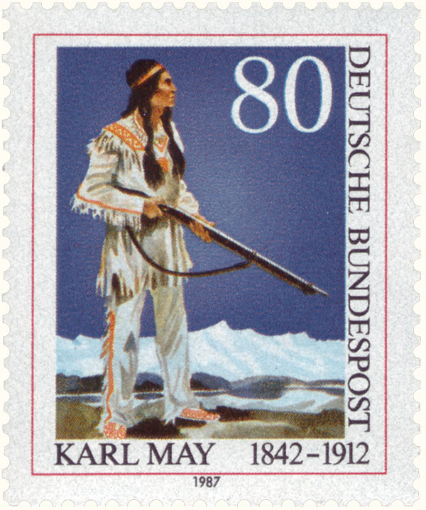 Briefmarke Winnetou_DP_1987